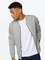 Male model in bench jacket