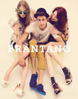 Models showcasing Brantano footwear