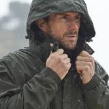 Man in Mountain Warehouse outdoor jacket